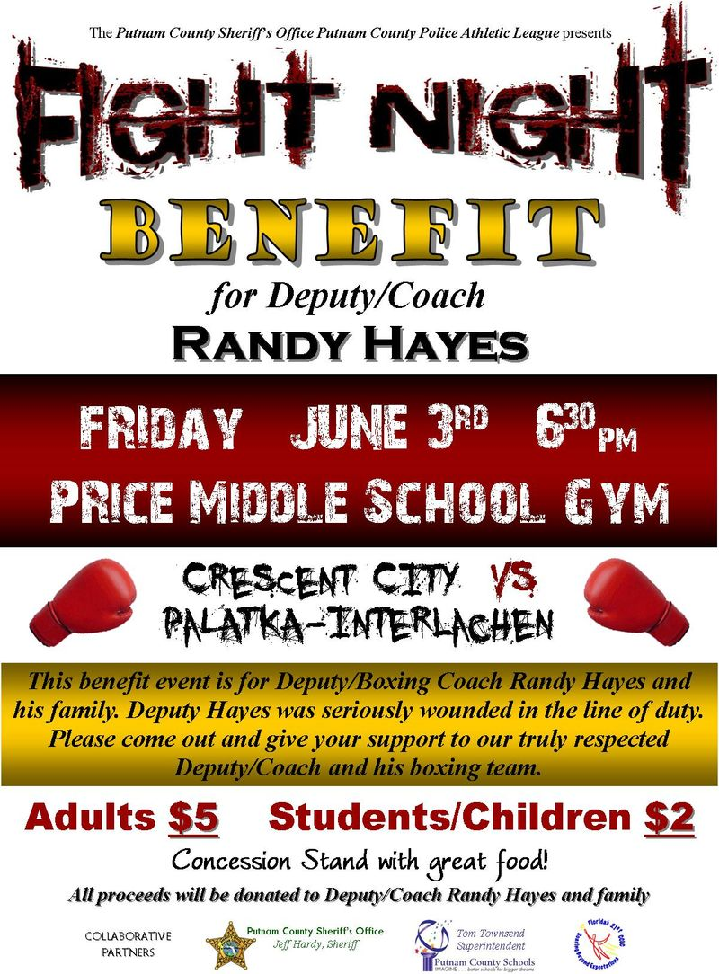 Boxing Benefit for Randy