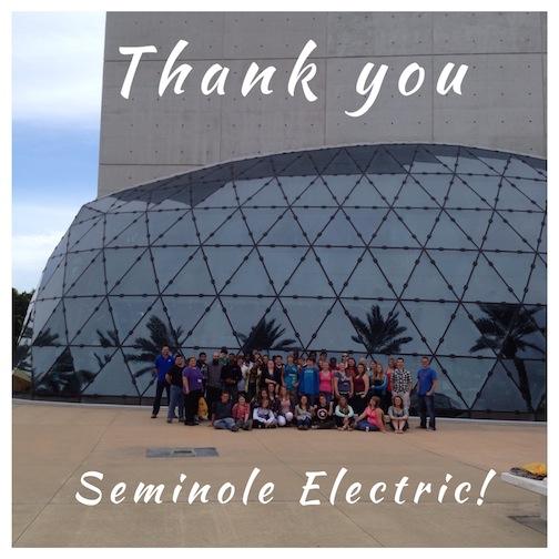 Seminole Electric Helps Send Kids to Dali Museum - News
