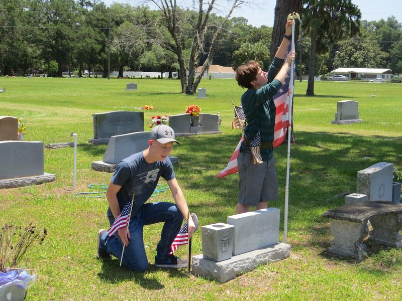 PHS JROTC Flags Blog 1